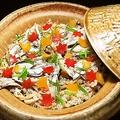 料理メニュー写真カワハギの炊き込みご飯