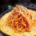 料理メニュー写真ナポリタン On The チーズegg