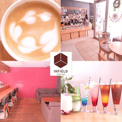 INFIELD coffee standの写真