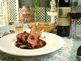 オステルリーラベイでは すべてのお料理をシェフがひとりでお作りしています。