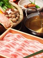 専門店の銘柄豚しゃぶしゃぶ食べ放題コースが人気!