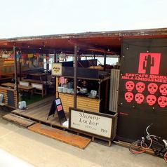 江の島 海の家 EAU CAFE SHONAN HOLA AMIGOS MEXICANの雰囲気1