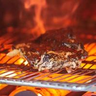 新鮮地鶏の炭火焼☆食欲をそそる香ばしい炭の香り。