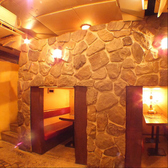 洞窟の様なチョットしたプライベート空間