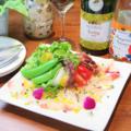 料理メニュー写真三浦野菜と鮮魚のカルパッチョ