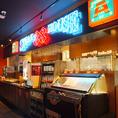 88グループの国際通りエリアで唯一のドリンクバー、スープ・サラダバー、アイスクリームバー!