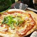 料理メニュー写真自家製ソーセージの和風マルゲリータ