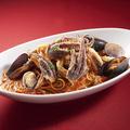 料理メニュー写真魚貝の濃厚ペスカトーレ