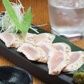 料理メニュー写真大山鶏のむねタタキ