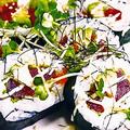 料理メニュー写真美ら鮪とアボカドのチーズ巻寿司