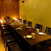 12名様テーブル席