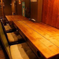 【2階席カウンター】3名までご利用できるカウンター席