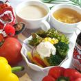 スープは88定番のスープと日替わりスープの2種類!
