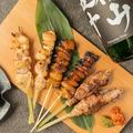 料理メニュー写真薩摩地鶏もも串