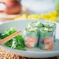 料理メニュー写真海老と豚肉の生春巻