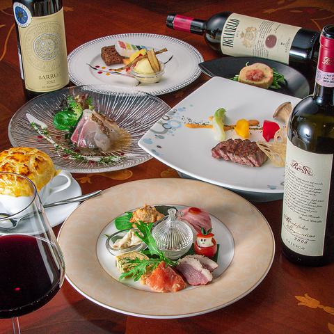 【平日Lunch】セレクト創作ランチコース〈オーストラリア産ロースステーキ〉
