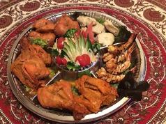 インドレストラン ピーコック Peacockのコース写真