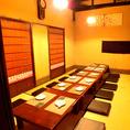【2F】最大25名様までのお座敷個室席です!