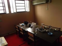 予約をすれば少人数からでも個室を使用する事ができます!