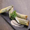 料理メニュー写真ささみと海苔チーズ春巻