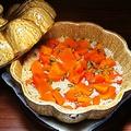 料理メニュー写真勝間南瓜の土鍋炊き込みご飯