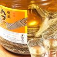 希少価値◎の銘柄種から密かに人気のハブ種の一杯まで☆厳選して仕入れた日本酒は30種以上と種類が豊富で大満足!!お気に入りの一杯とこだわり料理でゆっくり食事をお楽しみ下さい♪