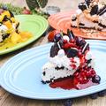 料理メニュー写真オレオのクリームチーズケーキ
