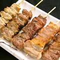 料理メニュー写真おまかせ串盛合せ(5本)