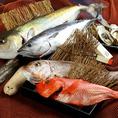 魚は店主自ら毎朝仕入れる新鮮なものを使用。お刺身は沖縄の塩とこだわりの醤油で食べるのがおすすね◎