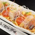 料理メニュー写真鮮魚たっぷり!知床お刺身サラダ
