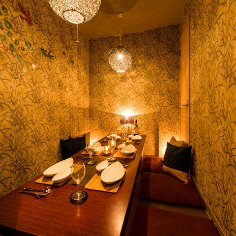 上質な空間と絶品料理でご宴会はいかがでしょうか。少人数~団体様までご利用可能な個室席をご用意しておりますのでお気軽にお問い合わせください。