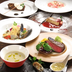 イタリアンレストラン otto おっとのコース写真