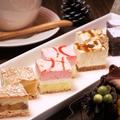 料理メニュー写真プチケーキ