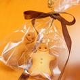 ― ウエディング二次会の下見にご来店で『コラボ君&コラボちゃんクッキー』をお土産にプレゼント☆ ―