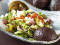 料理メニュー写真海鮮とアボガドのネバネバサラダ