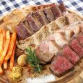 料理メニュー写真北海道の肉皿5種盛り たっぷり500g