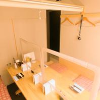 2階の個室は1室限定のため早めの予約がおすすめ