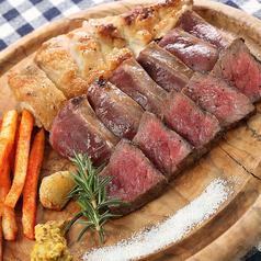 北海道の肉皿3種盛り たっぷり300g