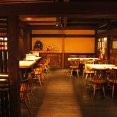 【2階】最大30人までOKのテーブル席