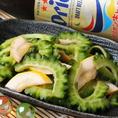 スタミナ満点!ゴーヤのピクルス♪ゴーヤと横須賀ズキーニをさっぱりお酢で漬けました!スタミナ満点のゴーヤと冷たいビールで今夜も決まり☆