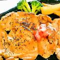 料理メニュー写真チキンステーキ 400g
