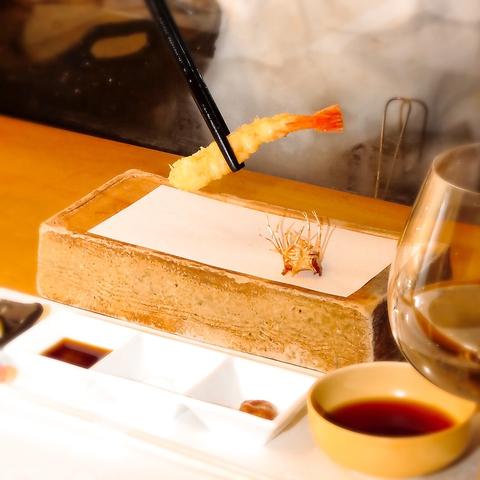 熟練の料理人のみが為せる「極みの天ぷら」…姫路の美味をワインと共に