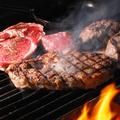 料理メニュー写真幻の黒毛和牛『のざき牛』ウチヒラの薪焼きステーキ