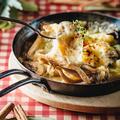 料理メニュー写真キノコとチーズのオーブン焼き