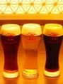 コースの飲み放題も含め、生ビールはキリン一番搾りプレミアム。スタウト(黒)やハーフ&ハーフもOK!【とりあえずの生】が【とっておきの生】として、ご提供いたします。