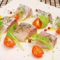 料理メニュー写真市場直送!本日の鮮魚カルパッチョ