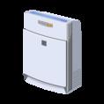 空気清浄機2台と空間除菌装置2台完備しています。感染症対策はバッチリです。