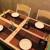 テーブル席は女子会や会社宴会に!2名様~最大8名様OK