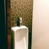 男性のお客様が気軽に使っていただける小用の御手洗いもございます。