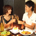 御祝い事やカップルにも最適な空間です。